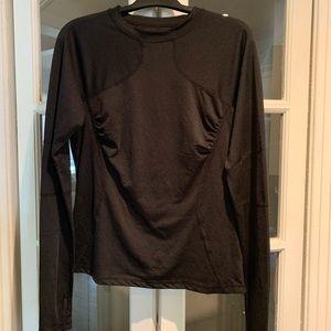 Lululemon black long sleeve. Size 10